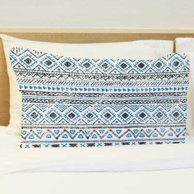 Faded Tribal Print Standard Pillow Case