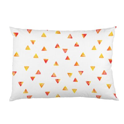 Timeless Triangles Fleece Standard Pillow Case