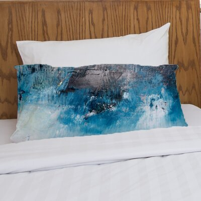 Ocean Oil Painting Fleece Standard Pillow Case