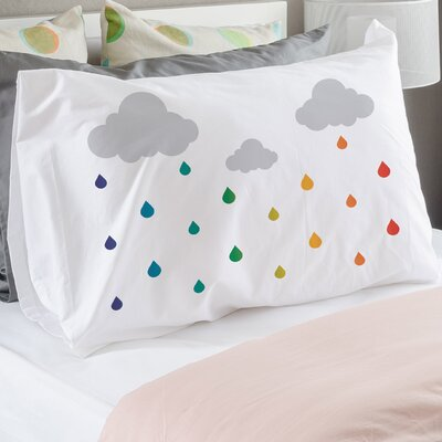 Rainbow Drip Drops Pillow Case