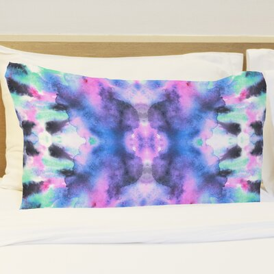 Abstract Ink Colors Pillow Case