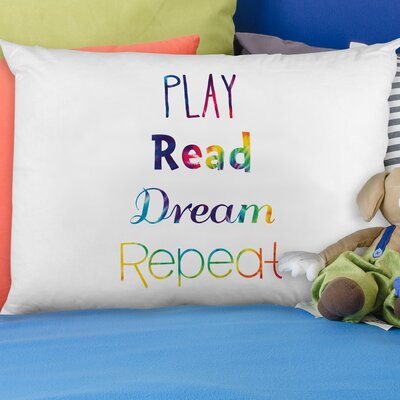 Play Read Dream Pillow Case