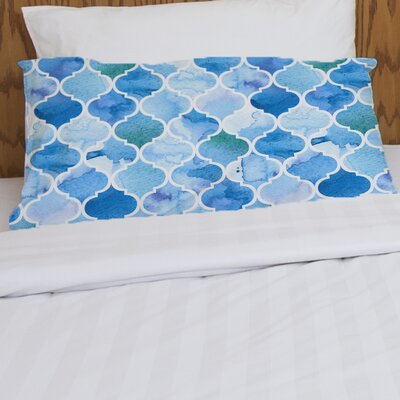 Ocean Moroccan Pillow Case