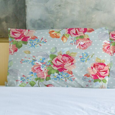 Oversized Cabbage Rose Pillow Case