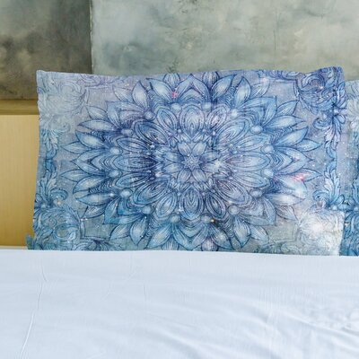 Galactic Flower Pillow Case