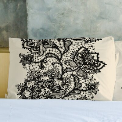 Lace Stripe Pillow Case