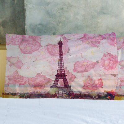La Tour Eiffel Pillow Case