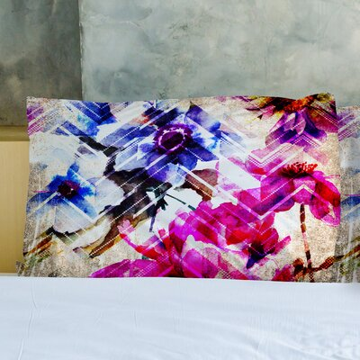 Wallflower Chevry Pillow Case