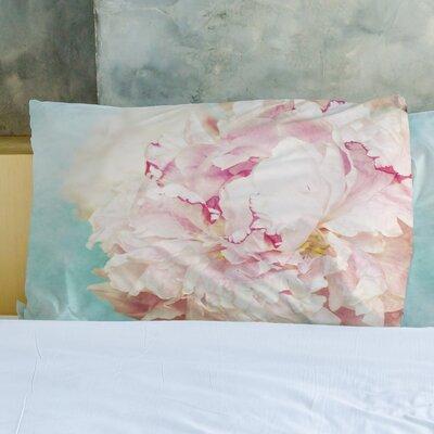 Delicate Peony Pillow Case
