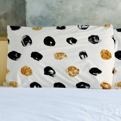 Goldadots Pillow Case