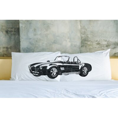Better Together 2 Piece Hot Rod Ocean Pillow Case Set