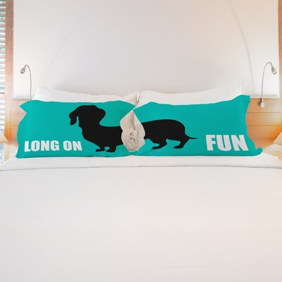 Better Together 2 Piece Long on Fun Pillow Case Set