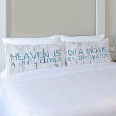 Better Together 2 Piece Heaven is a Little Closer Pillow Case Set