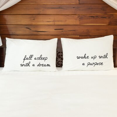 Better Together Fall Asleep with a Dream Pillow Case
