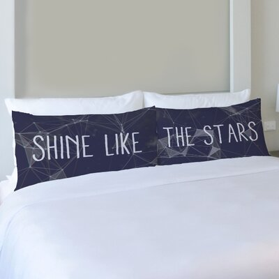 Better Together 2 Piece Shine Like the Stars Pillow Case Set