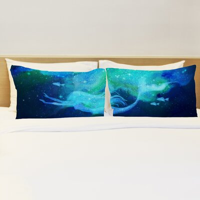 Better Together 2 Piece Mermaid in the Sky Pillow Case Set