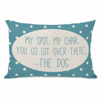 My Spot My Chair Lumbar Pillow