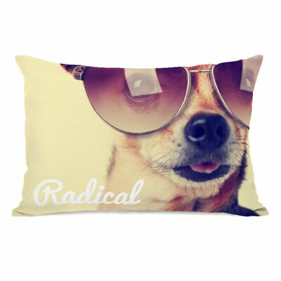 Radical Pup Lumbar Pillow