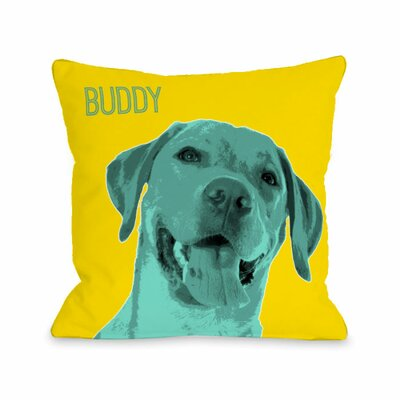 Personalized Whisker Dogs Lab Throw Pillow