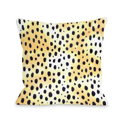 Wild Animal Fleece Throw Pillow