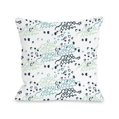 Beside the Seaside Throw Pillow Size: 18
