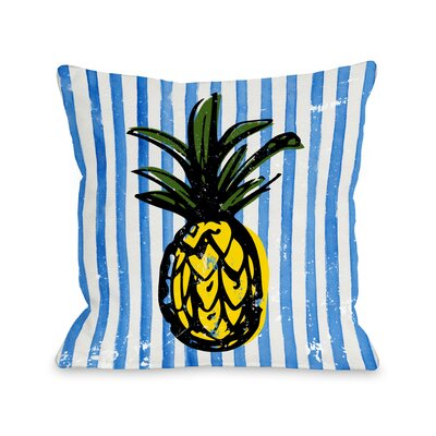 Fineapple Throw Pillow Size: 16
