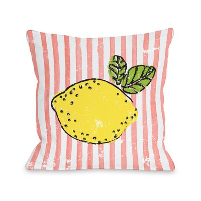 Beech Lemona Outdoor Throw Pillow Size: 18 x 18