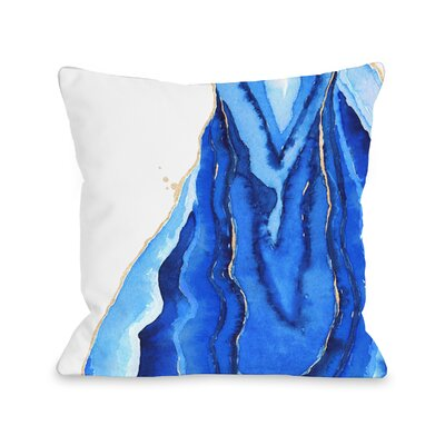 Bold Formations Throw Pillow Size: 16 x 16, Fabric: Ultra Plush Fleece