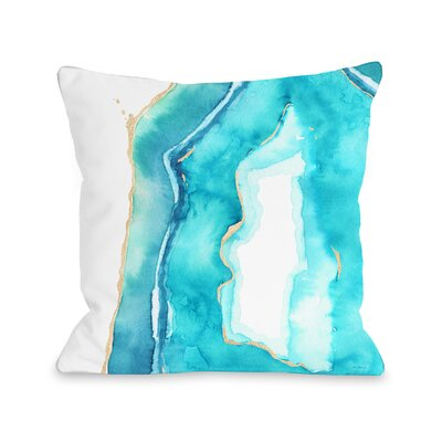 Patel Throw Pillow Size: 16 x 16, Fabric: Polyester