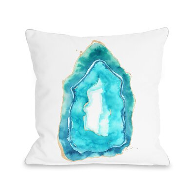 Petite Formations Throw Pillow Size: 16 x 16, Fabric: Polyester