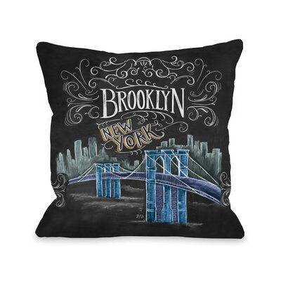 Brooklyn Fleece Throw Pillow