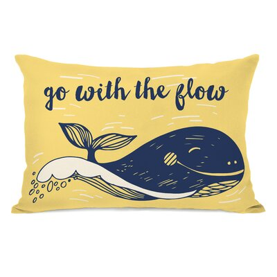 Go With The Flow Lumbar Pillow