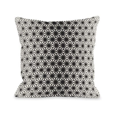 Geo Stars Throw Pillow