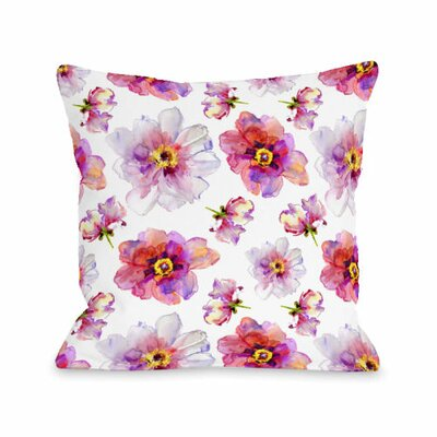 Daisy Days Throw Pillow