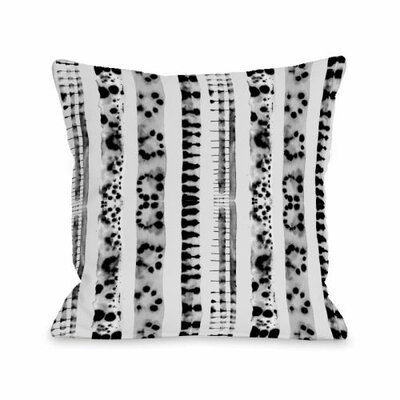 Splotch Lines Throw Pillow