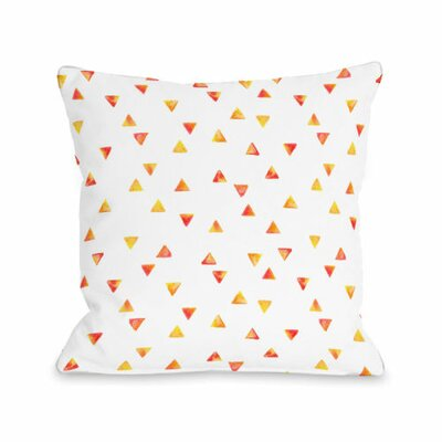 Timeless Triangles Throw Pillow