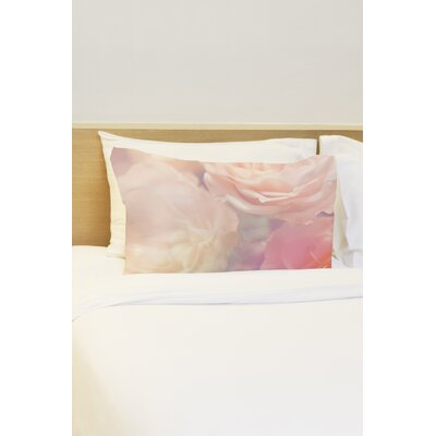 Rainbow Rose Garden Single Standard Pillowcase