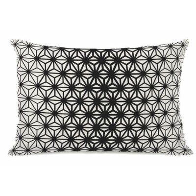 Geo Stars Fleece Lumbar Pillow