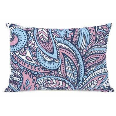 Swirly Paisley Fleece Lumbar Pillow