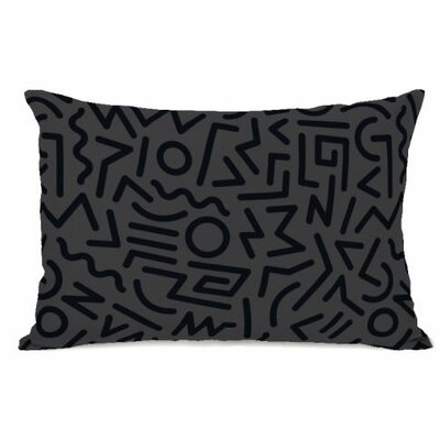 Line Jam Fleece Lumbar Pillow