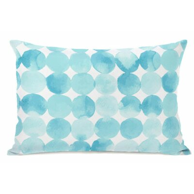 Dream Dots Fleece Lumbar Pillow