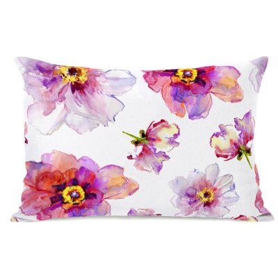 Daisy Days Fleece Lumbar Pillow
