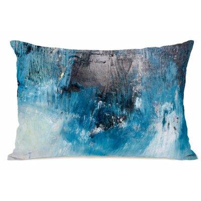 Ocean Oil Painting Fleece Lumbar Pillow