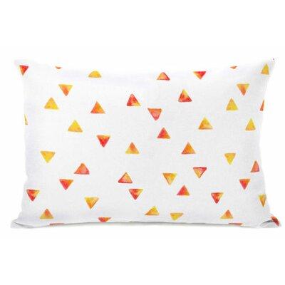 Timeless Triangles Fleece Lumbar Pillow