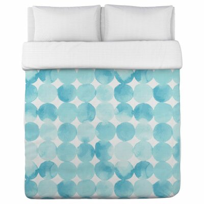 Dream Dots Duvet Cover Size: Queen