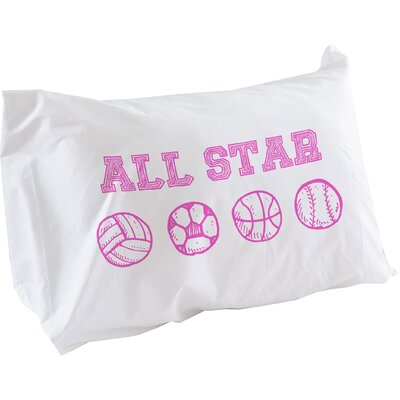 All Star Pillow Case