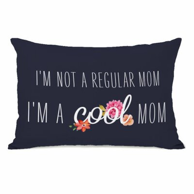 Im a Cool Mom Throw Pillow