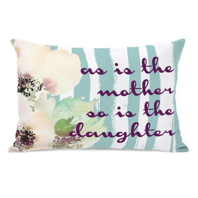 as Is the Mother Throw Pillow