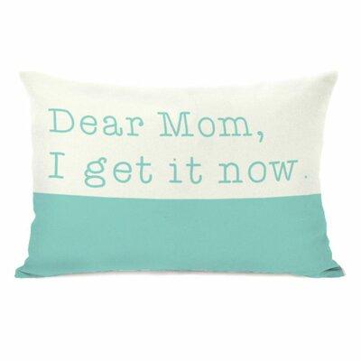 Dear Mom Throw Pillow