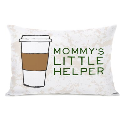 Mommys Helper Throw Pillow